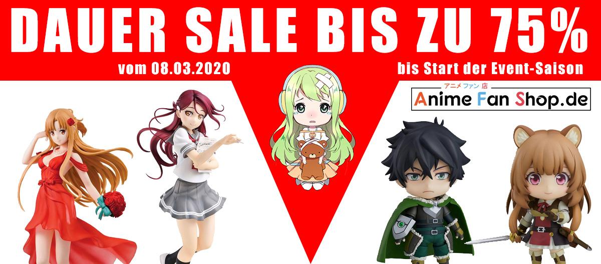 Dauer Sale - Bis zu 75% Rabatt vom 08.03. bis Start der Event-Saison