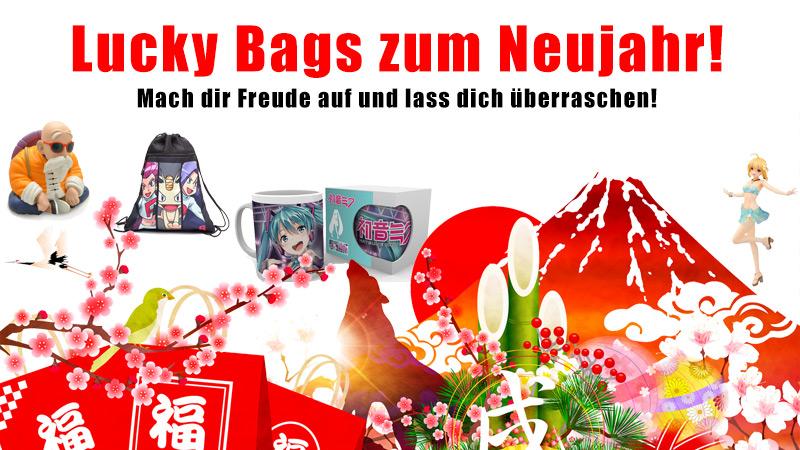 Neujahrs Lucky Bags Fukubukuro